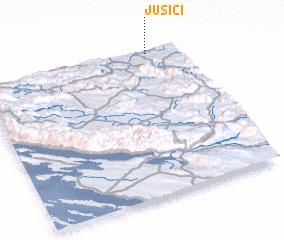 3d view of Jušići