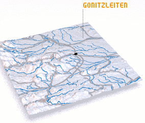 3d view of Gonitzleiten