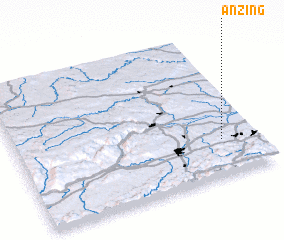 3d view of Anzing