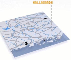 3d view of Hallagärde