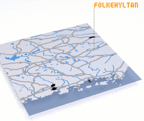 3d view of Folkehyltan