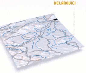 3d view of Delanovići