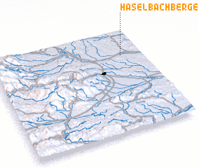 3d view of Haselbachberge