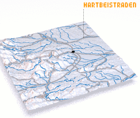 3d view of Hart bei Straden