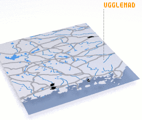 3d view of Ugglemad