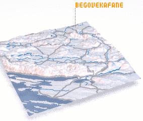 3d view of Begove Kafane