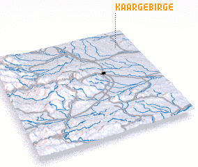 3d view of Kaargebirge