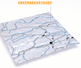 3d view of Obermarkersdorf