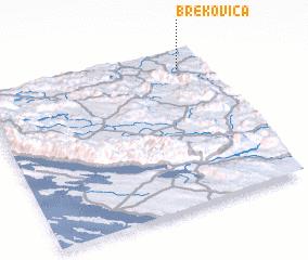 3d view of Brekovica
