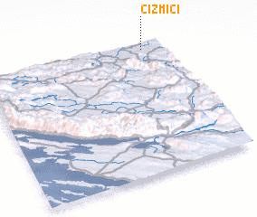 3d view of Čizmići