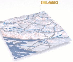 3d view of Smiljanići