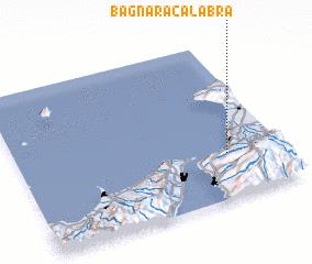 3d view of Bagnara Calabra