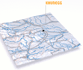 3d view of Khünegg