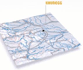 3d view of Khünegg