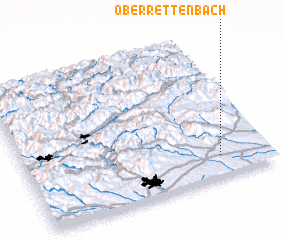 3d view of Oberrettenbach