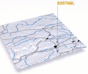 3d view of Ronthal
