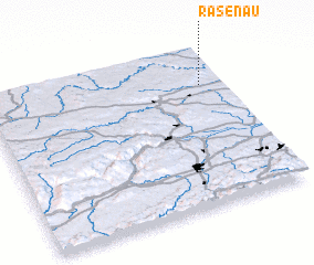 3d view of Rasenau