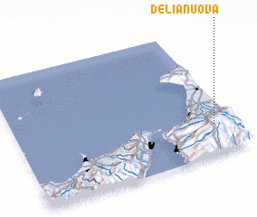 3d view of Delianuova