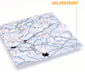 3d view of Walkersdorf