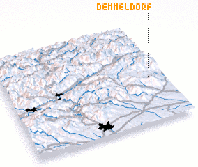 3d view of Demmeldorf
