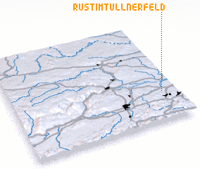 3d view of Rust im Tullnerfeld