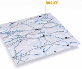 3d view of Bořice