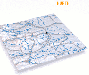 3d view of Hürth