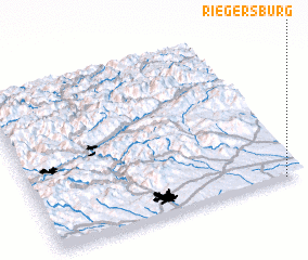 3d view of Riegersburg