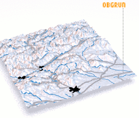 3d view of Obgrün