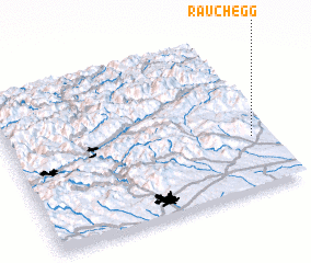 3d view of Rauchegg
