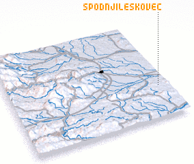 3d view of Spodnji Leskovec