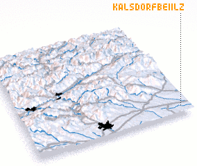 3d view of Kalsdorf bei Ilz