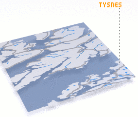 3d view of Tysnes