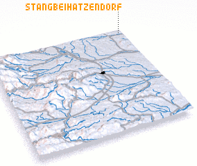 3d view of Stang bei Hatzendorf