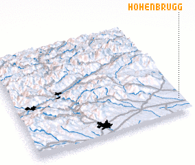 3d view of Hohenbrugg