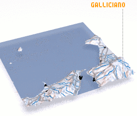 3d view of Galliciano