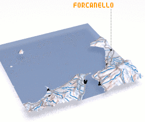 3d view of Forcanello