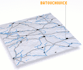 3d view of Batouchovice