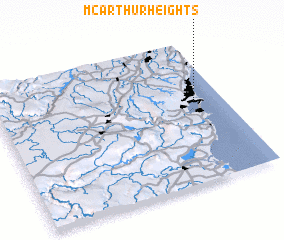 3d view of McArthur Heights