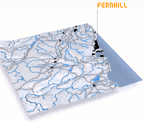 3d view of Fern Hill