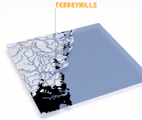 3d view of Terrey Hills