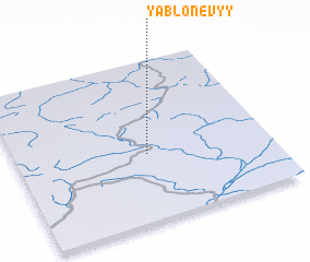 3d view of Yablonevyy