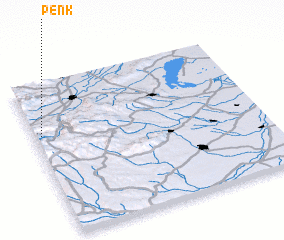 3d view of Penk