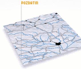 3d view of Pozďatín