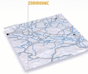 3d view of Zorinovac