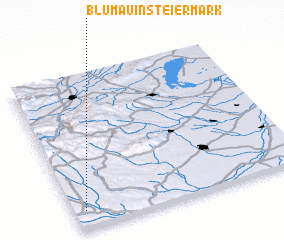 3d view of Blumau in Steiermark
