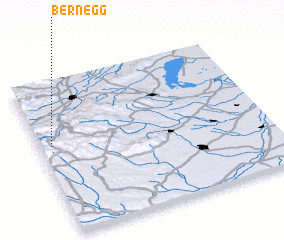 3d view of Bernegg