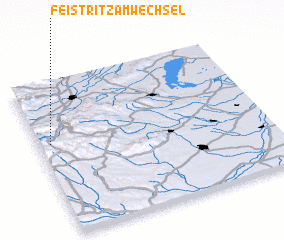 3d view of Feistritz am Wechsel