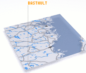 3d view of Basthult