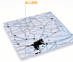 3d view of Alland